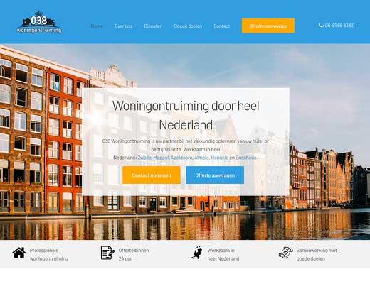 038 Woningontruiming Zwolle