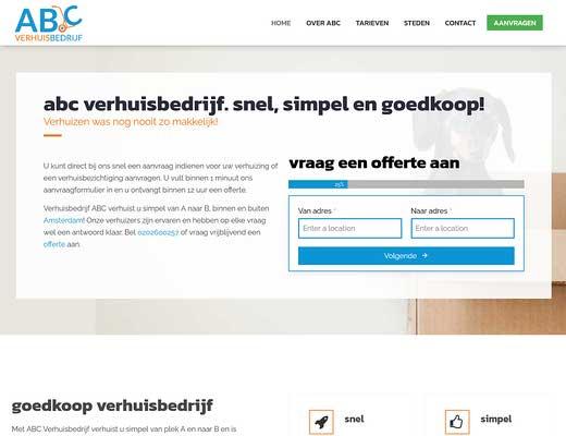 ABC Verhuisbedrijf Amsterdam Verhuizen & Verhuizers