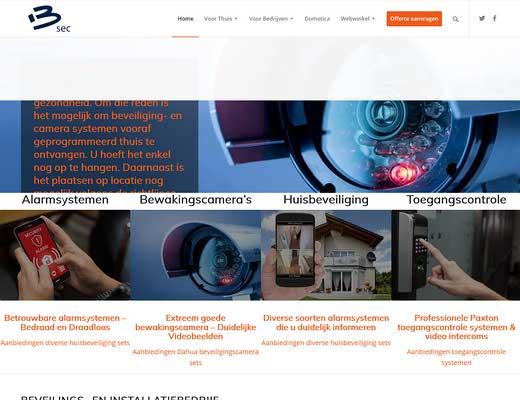 Alarmsysteem thuis & Camerabeveiliging | B-SEC