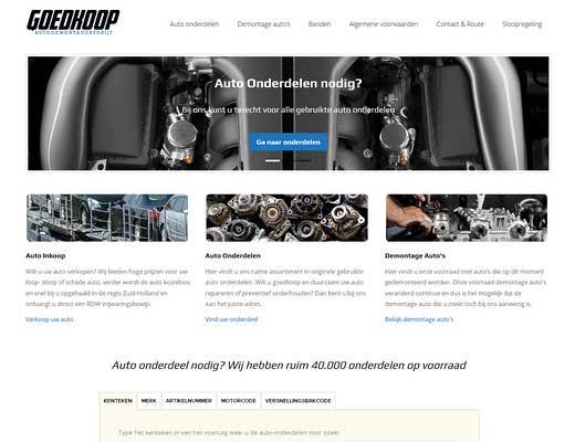 Autodemontagebedrijf Goedkoop