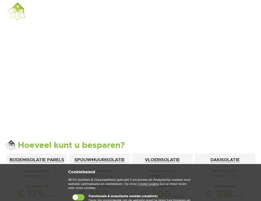 BEVO Isolaties & Duurzaamheid