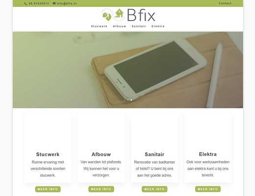 Bfix - Stucadoorsbedrijf in Zeeland