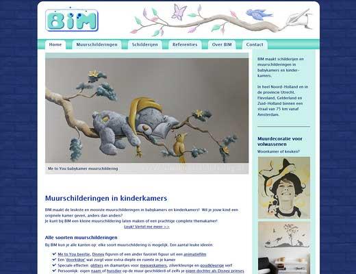 BIM Muurschildering / Birgit Charles