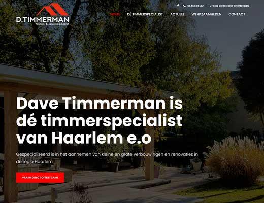 D. Timmerman Timmer- en Aannemingsbedrijf