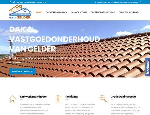 Dak en Vastgoedonderhoud van Gelder voor al uw dakbedekking , Dakrenovatie en Dakonderhoud