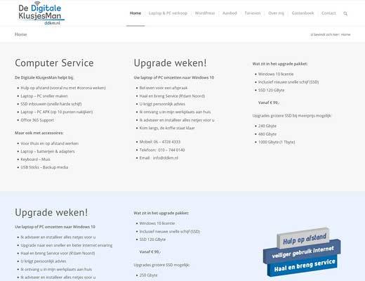 De Digitale KlusjesMan | Laptop & PC reparatie | SSD Upgrades | Laptop Batterij & Adapters