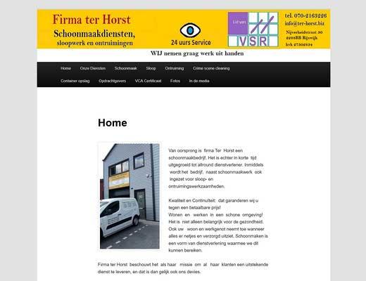 Firma ter Horst BV