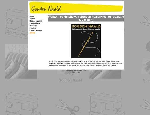 Gouden Naald Werkendam Kledingreparatie - Stomerij - Schoenmakerij - Sleutelservice