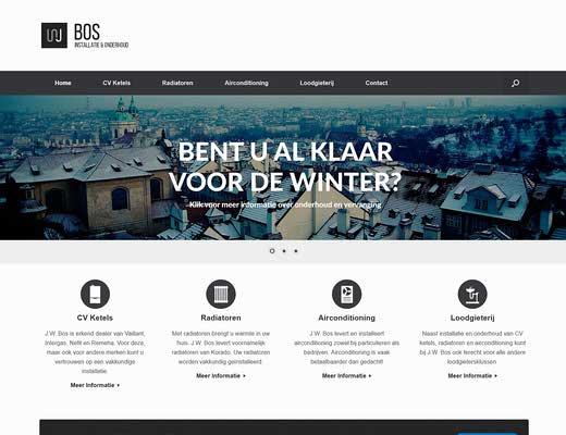 J.W. Bos Installatie en Montagebedrijf