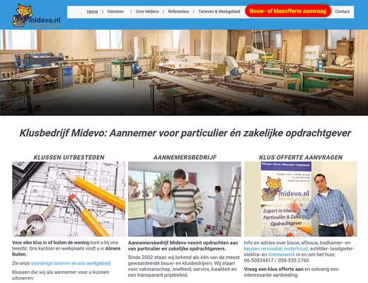 Klusbedrijf Almere - Midevo