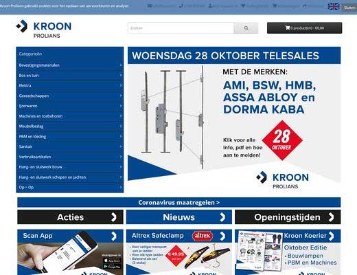 Kroon B.V. Sneek - Technische Groothandel