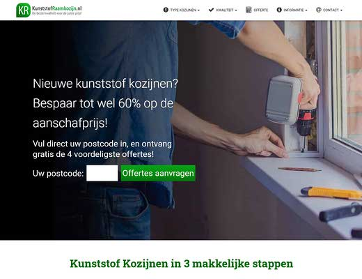 Kunststof Kozijnen | Kunststofraamkozijn.nl