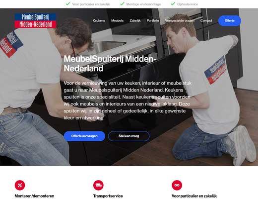 Meubelspuiterij Midden - Nederland | Keuken spuiten?