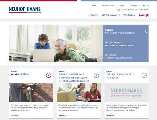 Neuhof & Haans Gevelrenovatie en Voegwerken BV