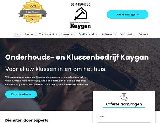 Onderhouds- en Klussenbedrijf Kaygan
