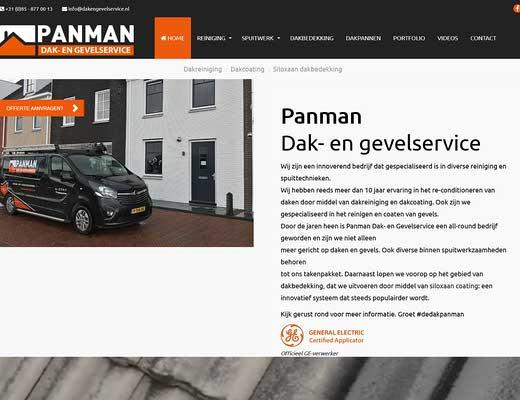 Panman dak- en gevelservice