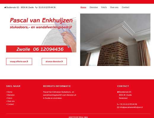 Pascal van Enkhuijzen stukadoorsbedrijf