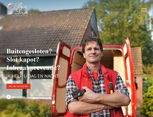 Paul van Dijk slotenmaker groningen
