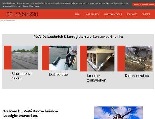 PéVé Daktechniek & Loodgieterswerken
