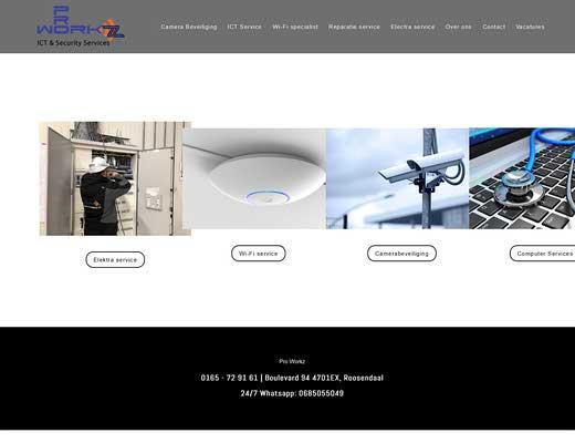 Pro Workz ICT & Security services