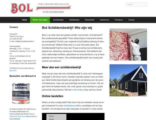 Schildersbedrijf Bol