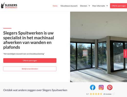 Slegers Spuitwerken - Nieuwbouw Stukadoors | Stucwerk & Spuitwerk | Stukadoorsbedrijf Eindhoven
