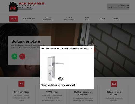 Slotenmaker Van Maaren