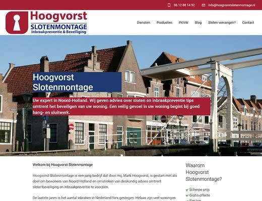 Slotenmontage Hoogvorst ( Slotenmaker Alkmaar )