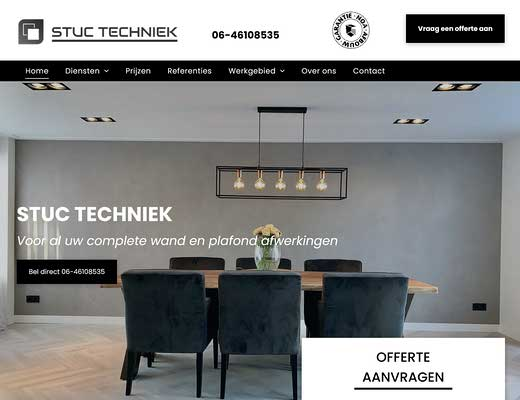 STUC TECHNIEK - Stukadoor Lelystad / Almere & latex spuiten