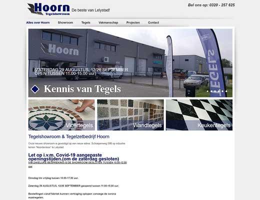 Tegelshowroom tegels en sanitair R. Hoorn