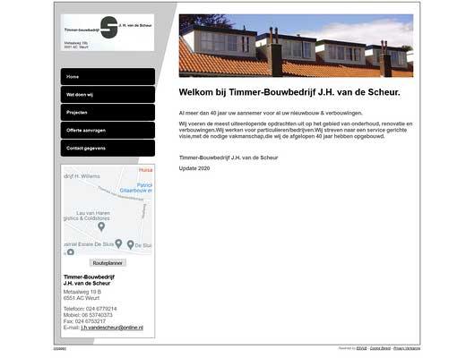 Timmerbedrijf J.H. van de Scheur V.O.F.