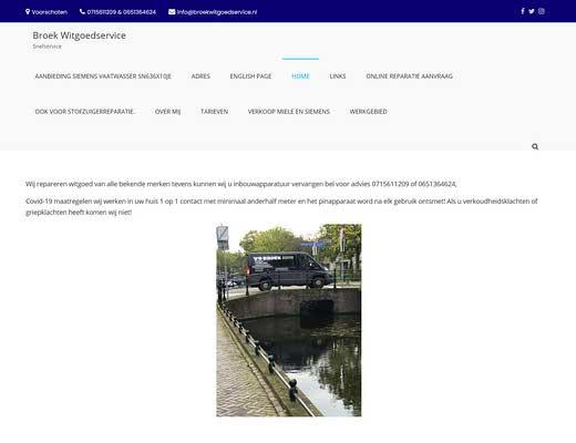 v/d Broek Witgoed Snelservice